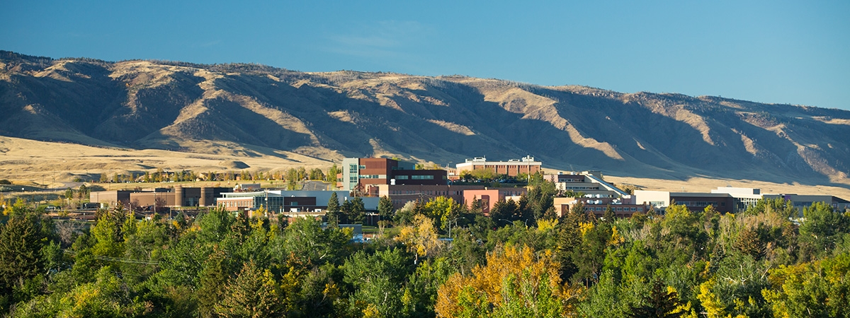 Casper College Mountains