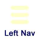 icon for left menu