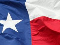Photo of Texas flag