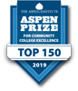 The Aspen Institute Aspen Prize for Community College Excellence Top 150 2019
