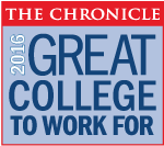 The Chronicle 2016 Great College to Work For