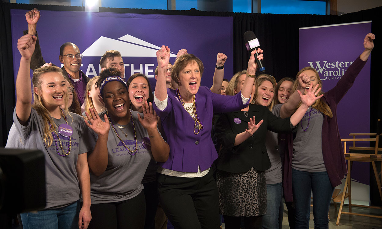WCU launches Lead the Way campaign, sets $60 million goal, announces $5 million gift pledge