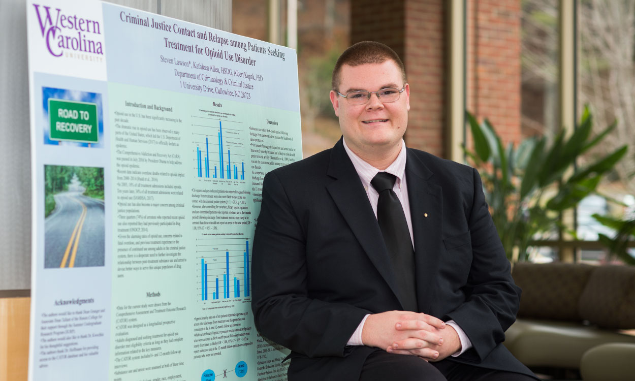 Students in top 10 again for National Conference on Undergraduate Research