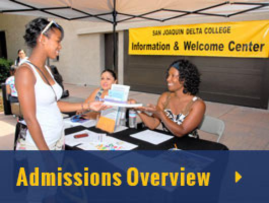 Admissions Overview