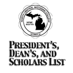 President's, Dean's, and Scholars List