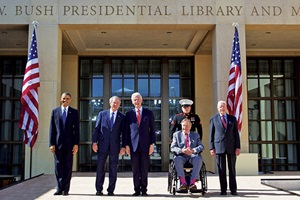 Opening of the Bush Library